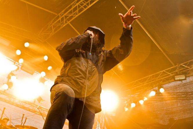 Thy Art Is Murder - Live @ Mair1 Open Air Festival 2014