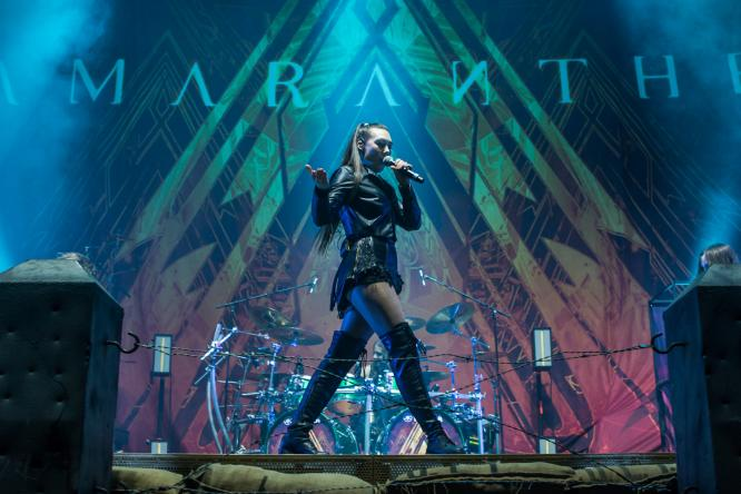 Amaranthe - Live @ König-Pilsener-Arena, Oberhausen