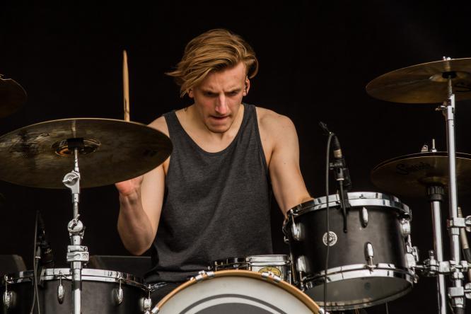 Burning Down Alaska - Live @ Southside Festival 2015