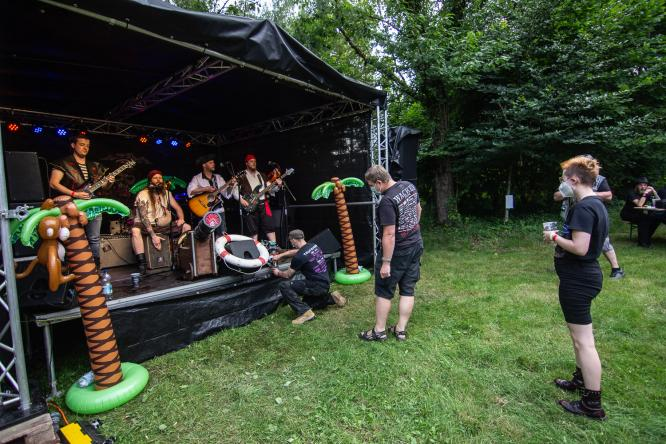The Broom Death Thunder Bristles - Live @ Birkenhütte, Urbach