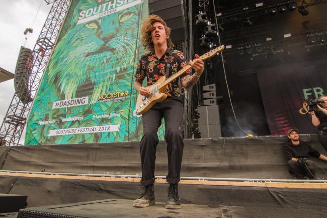 Frank Carter & The Rattlesnakes - Live @ Southside Festival 2018