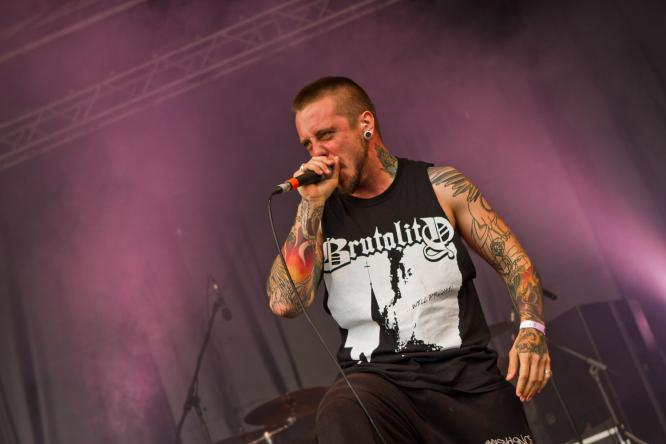 Heart Of A Coward - Live @ Mair1 Open Air Festival 2014