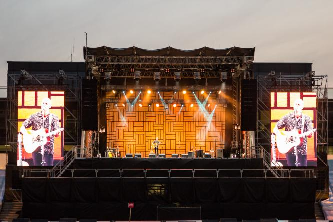 Milow - Live @ Sparkassenpark, Mönchengladbach