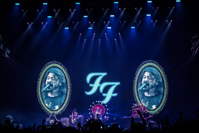 Foo Fighters - Live @ LANXESS Arena, Cologne