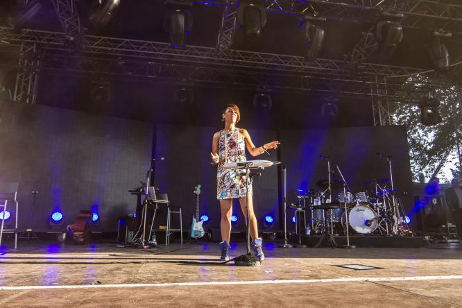ZAZ - Live @ Open Air am Tanzbrunnen, Cologne