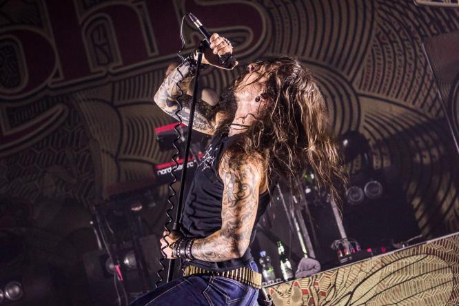 Amorphis - Live @ Turbinenhalle, Oberhausen