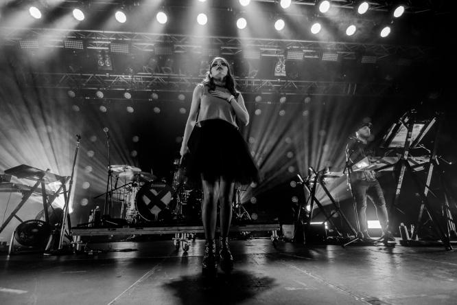 Chvrches - Live @ Live Music Hall, Cologne