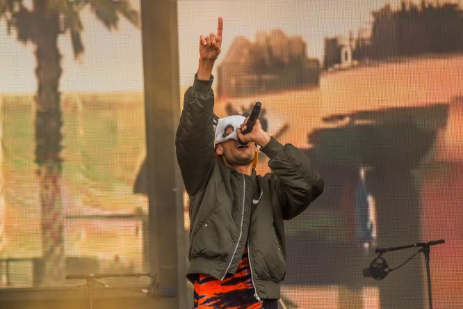 Cro - Live @ Southside Festival 2015