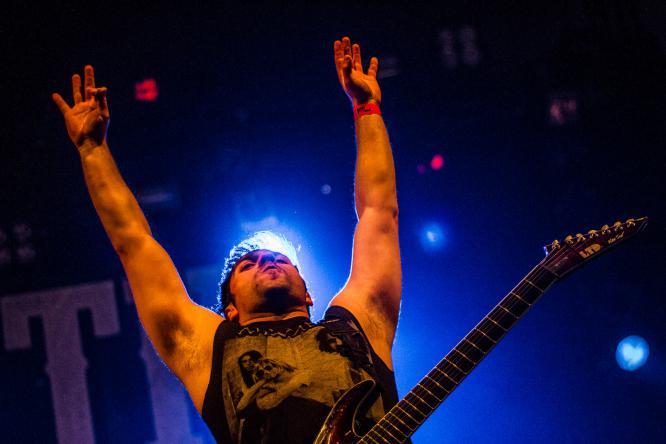 Unearth - Live @ Groezrock Festival 2015