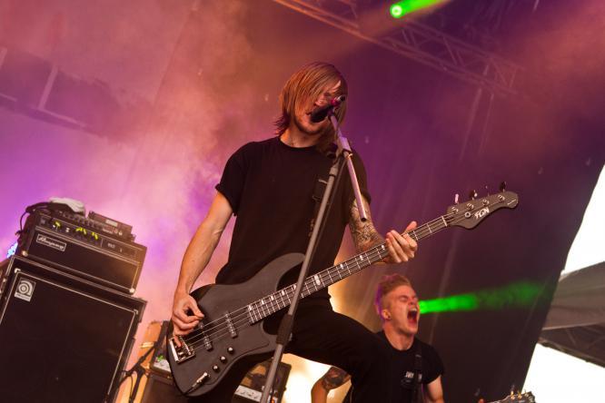 Blessthefall - Live @ Mair1 Open Air Festival 2014