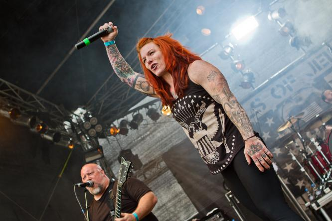 Walls Of Jericho - Live @ Mair1 Open Air Festival 2014